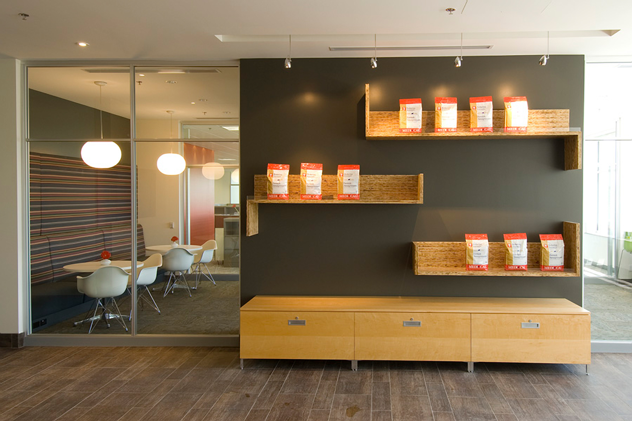 Creative Scale image of office interior